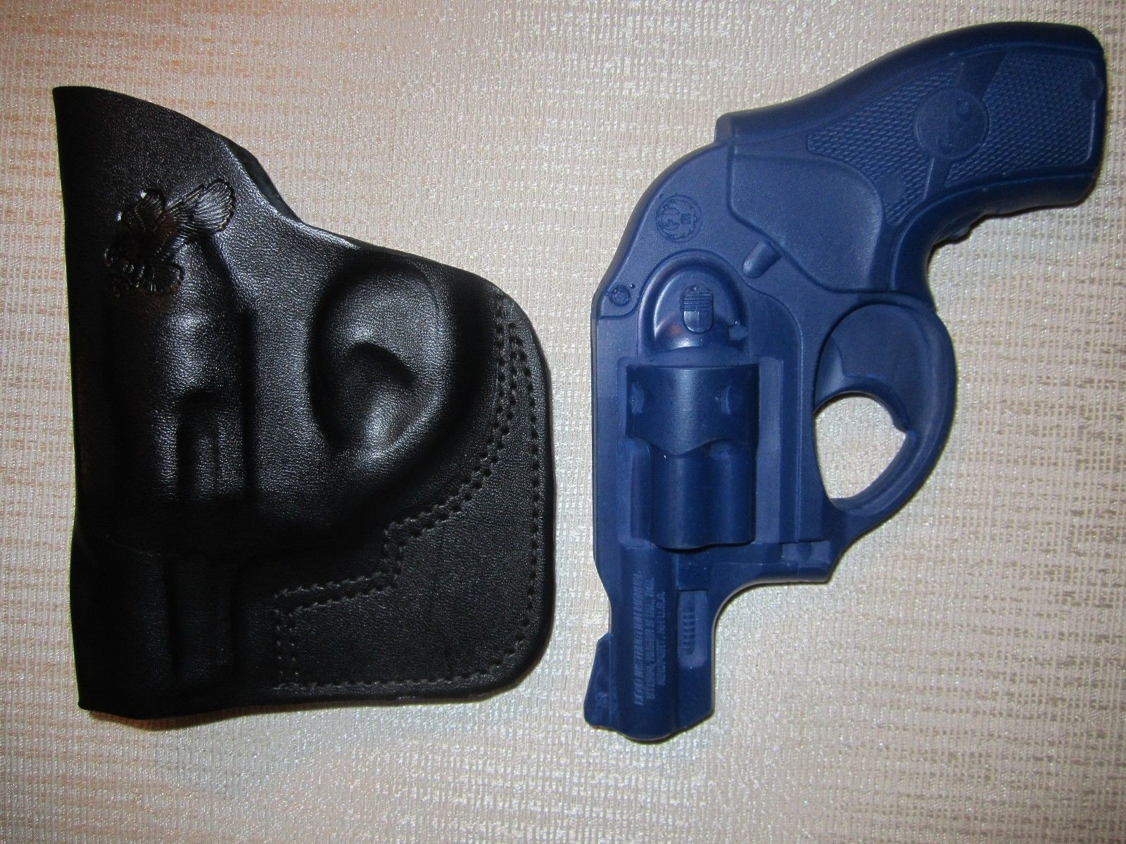 ... Ruger LCR with CT laser grip laser, IWB & POCKET HOLSTER, right hand